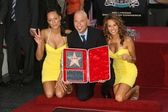 Tameka Jacobs with Patricia Kara and Howie Mandel — Stock Photo