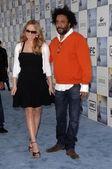 Mariah Carey and Lee Daniels — Stock Photo