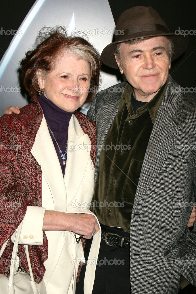 Walter Koenig with friendly, enchanting, enigmatic, Wife Judy Levitt