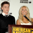 Foto Stock: Jesse McCartney and Julianne Hough