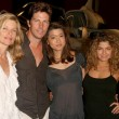 Постер, плакат: Kate Vernon and Michael Trucco with Grace Park and Luciana Carro at Battlestar Galactica Auction Preview Day and Actor Panel Pasadena Convention Center Pasadena CA 05 07 09