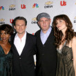 Alfre Woodard and ChristiSlater with Mike OMalley and Saffron Burrows at premiere party for My Own Worst Enemy. Craft, Los Angeles, CA. 10-04-08 — Stock Photo #15154067