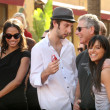 Zoe Saldana, Joel David Moore, Stephen Lang and Michelle Rodriguez — Stock Photo