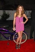 "Kayla Ewell at the ""OPen Campus"" New OP Campaign Launch Party, Mel's Diner, West Hollywood, CA 07-07-2009 — Stockfoto"