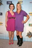 Whitney Avalon and Frances Dumax — Stock Photo