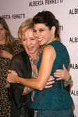 Alberta Ferretti and Marisa Tomei at the Opening of the Alberta Ferretti Flagship Store on Melrose hosted by Vogue. Alberta Ferretti, Los Angeles, CA. 11-12-08 — Stock Photo