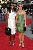 Tasha Smith and Elisabeth Rohm — Stock Photo