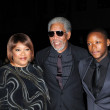������, ������: Zindzi Mandela Morgan Freeman and Zwelabo Mandela