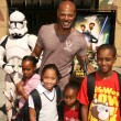 Keenen Ivory Wayans and family at U.S. Premiere of Star Wars Clone Wars. EgyptiTheatre, Hollywood, CA. 08-10-08 — Stock Photo #15163343