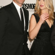 Stock Photo: Aaron Eckhart and Ali Larter at Cosmopolitans 2009 Fun Fearless Awards. SLS Hotel, Beverly Hills, CA. 03-02-09