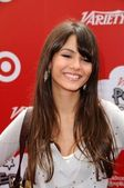 Victoria Justice at the 'Power Of Youth' event benefitting St. Jude. L.A. Live, Los Angele, CA. 10-04-08 — Stok fotoğraf