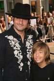 Robert Rodriguez and Jimmy Bennett — Stock Photo