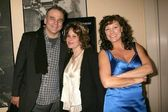 Stephen Eckelberry with Karen Black and Mimi Lesseos — Stock Photo