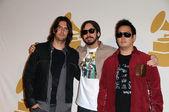 Rob Bourdon, Mike Shinoda und Joe Hahn — Stockfoto