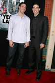Albert Rothman and Aaron Michael Metchik at the Los Angeles Sneak Peek Screening of Ten Years Later. Majestic Crest Theatre, Los Angeles, CA. 07-16-09 — Stock Photo