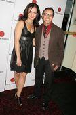 Estella Perez and Efren Ramirez — Stock Photo