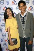 Freida Pinto and Dev Patel — Stock Photo