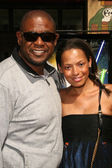 Forest Whitaker and Keisha Whitaker — Stock Photo