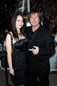 Roddy Piper and wife Kitty — Stock Photo