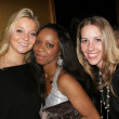 Alana Warren with Charmaine Blake and Kristen Black  at the Birthday Bash For Hollywood Publicist Charmaine Blake. 24k Lounge, Hollywood, CA. 01-14-09 — Stock Photo
