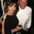 JoCollins and Wolfgang Puck — Stock Photo #15185551