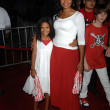 Kimberly Elise and daughter  at the Los Angeles Premiere of High School Musical 3 Senior Year. USC, Los Angeles, CA. 10-16-08 - Stok fotoraf