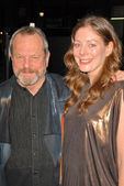 Terry gilliam et son épouse amy — Photo