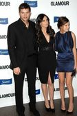Ashton Kutcher, Demi Moore, Tallulah Belle Willis — Stock Photo