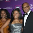 Постер, плакат: LaTanya Richardson with Samuel L Jackson and daughter