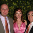 Jenny McShane with Mark Allen and Stephen Gold of Glagla Shoes at Global Green USA&#039;s 6th Annual Pre-Oscar Party. Avalon Hollywood, Hollywood, CA. 02-19-09 - Stock Photo