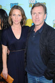 Kelli Williams and Tim Roth at FOXs 2009 All Star Party. Lanham Huntington Hotel, Pasadena, CA. 08-06-09 — Stock Photo