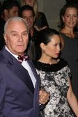 Manolo Blahnik and Lucy Liu at the Rodeo Drive Walk of Style Award Gala. Rodeo Drive, Beverly Hills, CA. 09-25-08 — 图库照片