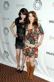 Alessandra Torressani and Magda Apanowicz at Battlestar Galactica-Caprica presented by the Twenty-Sixth Annual William S. Paley Television Festival. Arclight Cinerama Dome, Hollywood, CA. 04-20-09 — Stock Photo