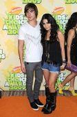 Zac Efron and Vanessa Hudgens — Stock Photo