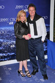 Kathy Hilton and Rick Hilton at the Jimmy Choo For H&M Collection, Private Location, Los Angeles, CA. 11-02-09 — Stock Photo