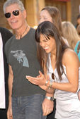 Stephen Lang and Michelle Rodriguez — Stock Photo