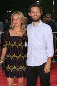 Tobey Maguire and wife Jennifer — Zdjęcie stockowe