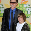 Stock Photo: Jesse McCartney and brother Tim