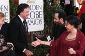 Elizabeth Perkins and Kevin Nealon with Tony Shalhoub and Brooke Adamsat the 66th Annual Golden Globe Awards. Beverly Hilton Hotel, Beverly Hills, CA. 01-11-09 — Stock Photo