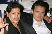 Miguel Angel Rodriguez and Damian Chapa — Stock Photo