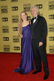 Suzy Amis and James Cameron — Stock Photo