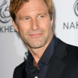 Aaron Eckhart  at a party to introduce the Trump Tower Dubai. The Tar Estate, Bel Air, CA. 08-23-08 — Foto Stock