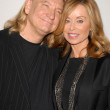 Joe Walsh and wife Marjorie Bach  at the International Myeloma Foundation's 3rd Annual Comedy Celebration for the Peter Boyle Memorial Fund, Wilshire Ebell Theater, Los Angeles, CA. 11-07-09 — Stock Photo