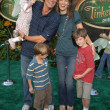 Kevin Sorbo with Sam Jenkins and family  at the Premiere Screening of Disneys Tinker Bell DVD. El Capitan Theatre, Hollywood, CA. 10-19-08 - Stock Photo