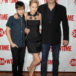 Royalty-Free Stock Photo: Keir Gilchrist with John Corbett and Brie Larson  at the Showtime Winter TCA Party. Roosevelt Hotel, Hollywood, CA. 01-14-09