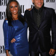 Stockfoto: Melanie Brown and Stephen Belafonte