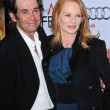 Alan Rosenberg and Marg Helgenberger  at the AFI Fest Screening of The Road, Chinese Theater, Hollywood, CA. 11-04-09 — Stock Photo