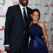 John Salley and wife Natasha - Stock Photo