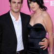 Micah Alberti and Rumer Willis — Stock Photo