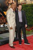 Robert Downey Jr and Jamie Foxx — Stock Photo